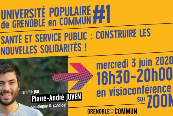 univesrité populaire Grenoble en Commun