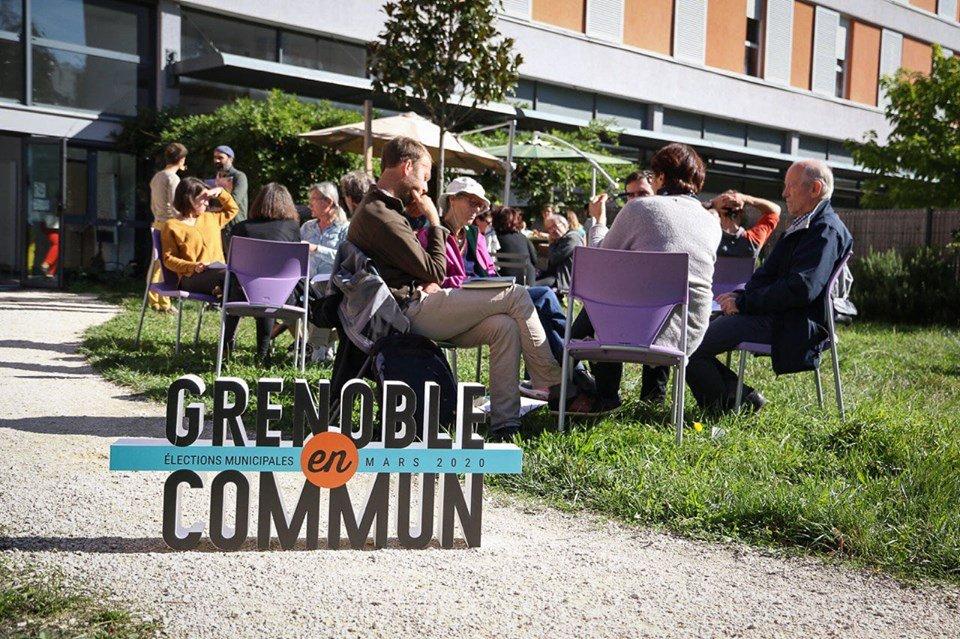 Projet municipales 2020 Grenoble en Commun