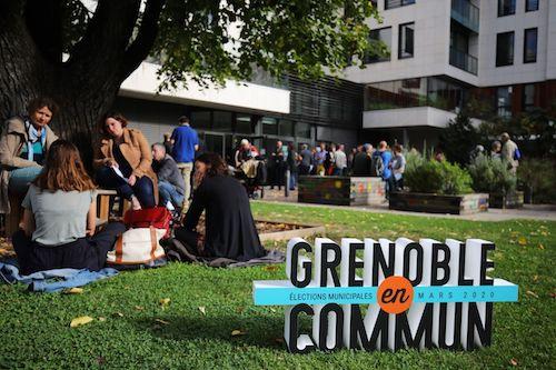 Municipales Grenoble en Commun