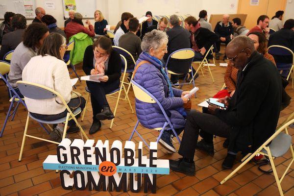 réunion Grenoble en Commun