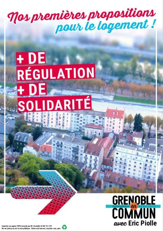 Logement Grenoble municipales