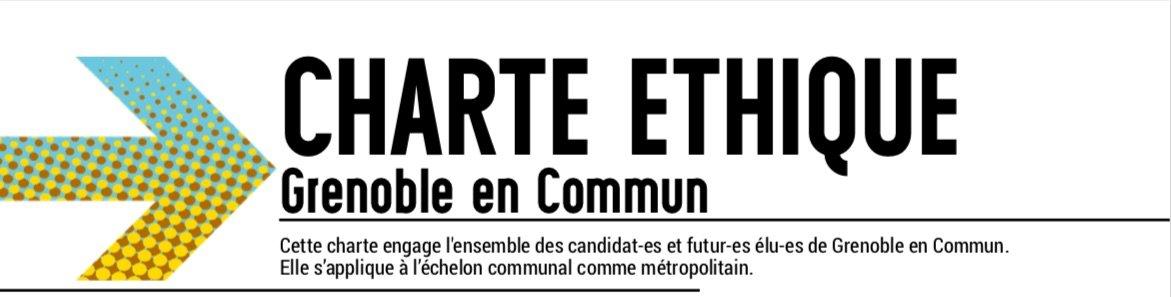 charte éthique Grenoble en Commun