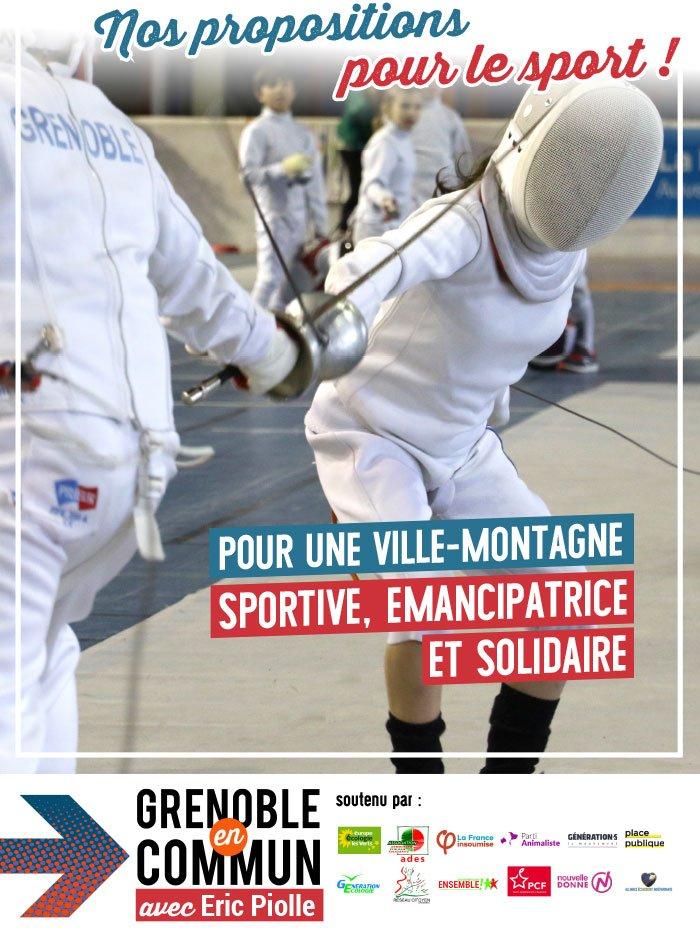 programme sport Grenoble en Commun