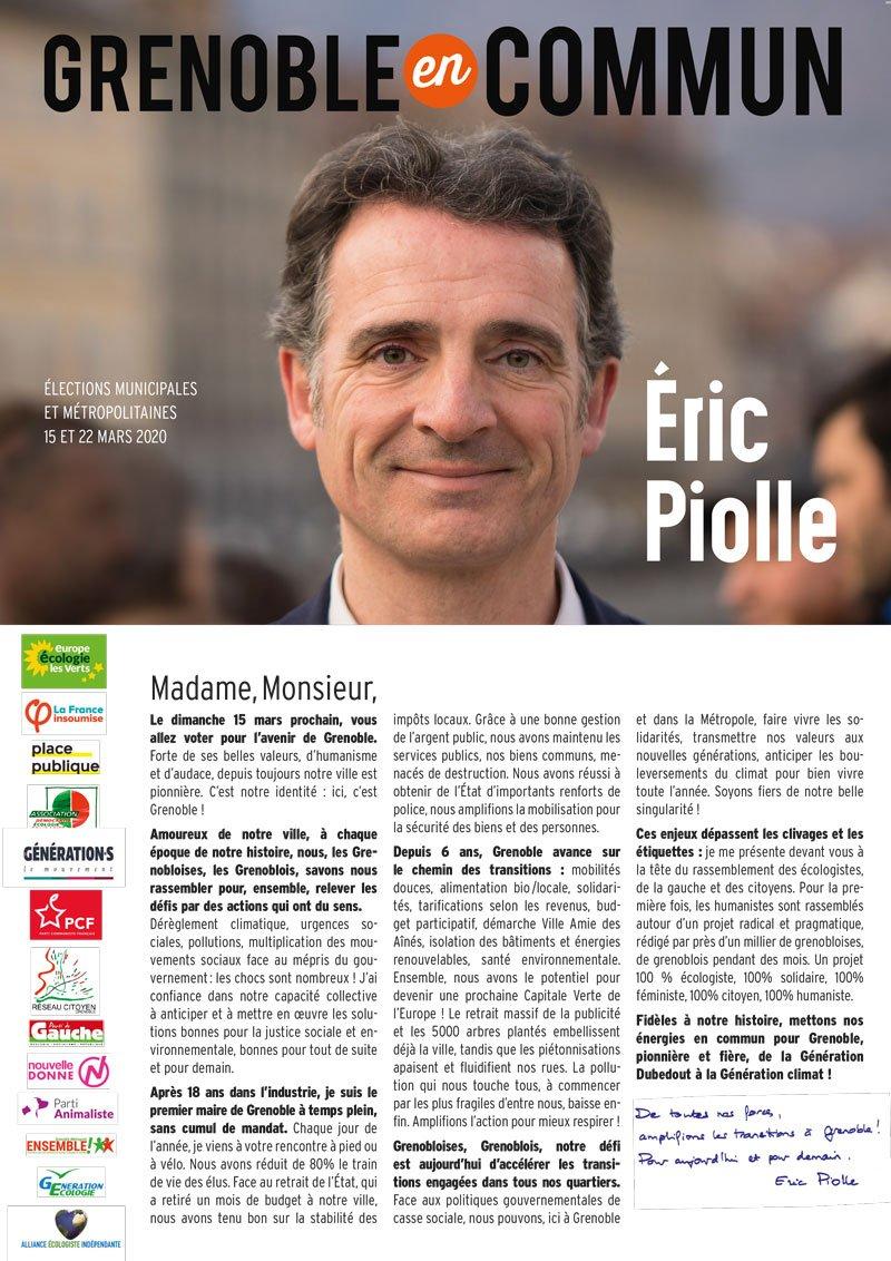Eric Piolle 2020